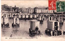 62 - Pas De Calais -  BOULOGNE Sur MER - L Heure Du Bain - Boulogne Sur Mer