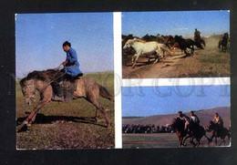 045875 Russia NORTH Aginsky Buryat Horse Breeding - Asien