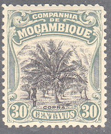 MOZAMBIQUE CO.  SCOTT NO  133   MINT HINGED   YEAR  1918 - Colonies & Territories – Unclassified