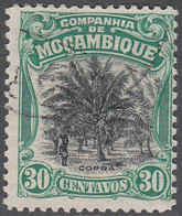MOZAMBIQUE CO.  SCOTT NO  134   USED   YEAR  1918 - Colonies & Territories – Unclassified