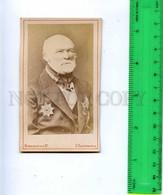 188219 PIROGOV Russian Scientist AWARDS Old CDV CABINET PHOTO - Personalidades Famosas