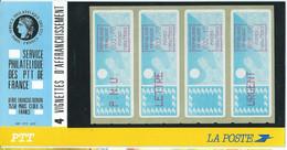 LSA Vignette D'affranchissement Bleu La Plaquette ** - 1985 Papier «Carrier»