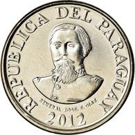 Monnaie, Paraguay, 100 Guaranies, 2012, Général José Diaz, SPL, Nickel-Steel - Paraguay
