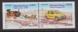 2013-N°4749/4750** EUROPA VEHICULES POSTAUX - Unused Stamps