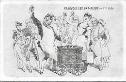 Ticket - Programme - FRANCOIS Les BAS BLEUS - Opéra Comique Messager - Danses Fantaisies Piano - Prix Nets - 3e Acte - Tickets - Vouchers