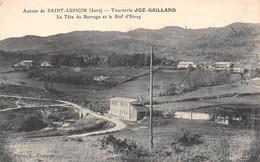 Saint Lupicin - Tournerie Joz-Gaillard - La Tête Du Barrage Et Le Bief D'Etraz - Sonstige Gemeinden
