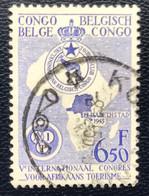 Congo Belge - Belgisch Congo - T2/5 - (°)used - 1955 - Michel 330 - Internationaal Congres Afrikaans Toerisme - 1947-60: Used
