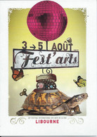 [33] Gironde > Libourne Depliant Fest Arts 2017 - Libourne