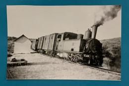 Locomotive CdN 33 - Photo Halte De Caronal - France Bretagne Côtes Du Nord Armor 22 Train Gare Local Secondaire VFIL - Trains