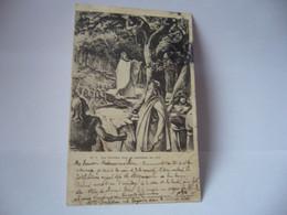 NO 1 LES DRUIDES FONT LA CUEUILLETTE DU GUI CPA 1905 - Ohne Zuordnung