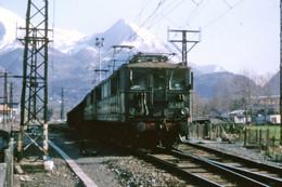 Pierrefitte-Nestalas (65 - France) 15 Mars 1979 - La BB 4134 En Tête D'un Train De Marchandises - Andere Gemeenten