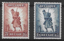 OBP351/52, Postfris** - 1929-1941 Gran Montenez