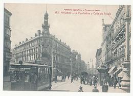MADRID - N° 575 - LA EQUIITATIVA Y CALLE DE DE AICALA (TRAMWAY) - Madrid
