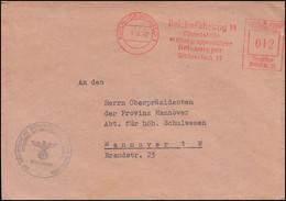 AFS Reichsführung SS Dienststelle Obergruppenführer Berlin-Grunewald 5.11.42 - Other