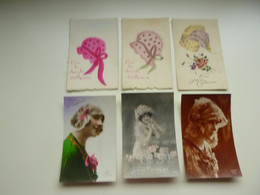 Beau Lot De 20 Cartes De Fantaisie Bonnet De Sainte - Catherine  Mooi Lot Van 20 Postkaarten Van Fantasie St - Katarina - 5 - 99 Karten
