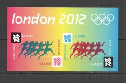 WW427 IMPERF 2012 SIERRA LEONE OLYMPIC GAMES LONDON 2012 1KB MNH - Estate 2012: London