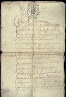 BA - Doc Notarial Du 5 Octobris 1779 -  - Néerlandais - 1714-1794 (Austrian Netherlands)