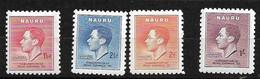 Nauru   N° 33  à  36   Neufs    *  *    B/TB  Voir Scans   Soldé    ! ! ! - Nauru