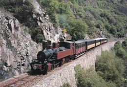 Transport : Chemins De Fer : Du Vivarais : Train : Ligne TOURNON - LAMASTRE : Le Long Du Doux : Ardèche : Grand Format - Trains