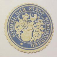 Siegelmarke, Siegel Der Stadt Schöningen 1900 ♥ (17332) - Advertising