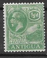 Antigua Mh * 3 Euros 1921 - Unclassified