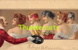 CPA ILLUSTRATEUR FEMME ART NOUVEAU LADIES WOMAN LADY ARTIST LITHO CARD - 1900-1949