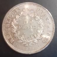 FRANCE 50FR   SILVER ARGENT   1976   HERCULE - M. 50 Francs