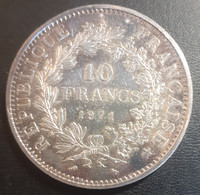 FRANCE 10FR   SILVER ARGENT   1971   HERCULE - M. 50 Francs