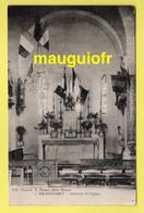 34 HÉRAULT / BEAUFORT / INTÉRIEUR DE L'ÉGLISE / 1931 - Other Municipalities