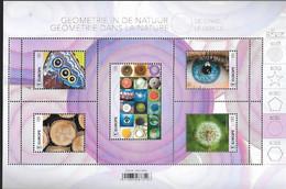 Belg. 2021 - Géométrie Dans La Nature : Le Cercle ** - Ongebruikt