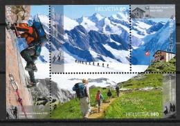 2013 Zu 1459 / Mi Bl. 52 150 Ans Club Alpin Suisse ** / MNH - Nuevos