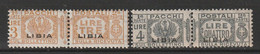 LIBYE - Timbres Colis Postaux N°20/1 ** (1927-37) - Libië
