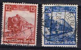 ALL-R89 - ALLEMAGNE N° 540/41 Obl. Locomotives - Usati