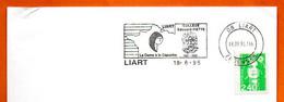 08 LIART  EDOUARD PIETTE  LA DAME  A LA CAPUCHE ( Pli )  1995 Lettre Entière N° NO 718 - Mechanical Postmarks (Advertisement)