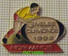RUGBY MELEE DU MONDE 1992 NORMANDIE - Rugby