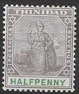 Trinidad Mint Hinge Trace * (quasi Mnh **) 4 Euros 1896 - Trinidad & Tobago (...-1961)