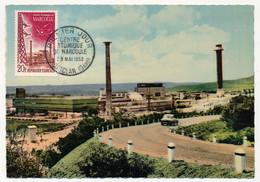FRANCE - Carte Maximum 20F Centre Atomique De Marcoule - CHUSCLAN Gard - 23 Mai 1959 (Maximaphiles Français) - 1950-59