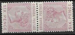 Grenada Mint Hinged * Tete-beche Mnh ** 52 Euros + 1883 - Grenada (...-1974)