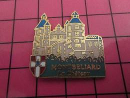 812c Pin's Pins / Beau Et Rare : Thème VILLES / LE CHATEAU DE MONTBELIARD - Cities