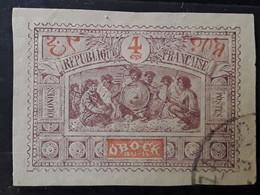 OBOCK 1894  Type Guerriers Somalis,  Yvert No 49, 4 C Brun Lilas Et Orange   ,obl , Belles Marges  TTB - Used Stamps