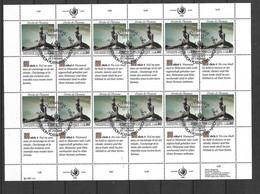 ONU Genève Feuillet Des N°180 à 185 X  4 Droits De L'Homme Cachets Premier Jour 17/11/1989 TB  Voir Scans Soldé    ! ! ! - Cartas