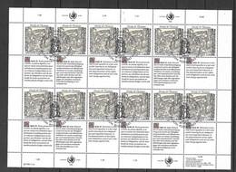 ONU Genève Feuillet Des N°196 à 201 X  4 Droits De L'Homme Cachets Premier Jour 16/11/1990 TB  Voir Scans Soldé    ! ! ! - Cartas