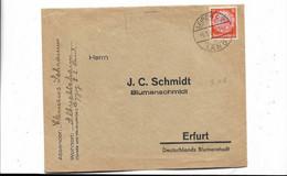 Brief Aus Leipzig Nach Erfurt 1933 - Covers & Documents