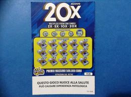 ITALIA BIGLIETTO LOTTERIA GRATTA E VINCI USATO € 5,00 NUOVO 20X LOTTO 3308 ITALY LOTTERY TICKET - Lottery Tickets