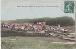 25. VAUX-ET-CHANTEGRUE. Vue Panoramique - Sonstige Gemeinden