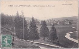 25. VAUX-ET-CHANTEGRUE. Depuis La Route De Bonnevaux - Altri Comuni
