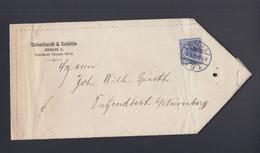 Dt. Reich Brief 1899 Berlin Nach Bayern - Cartas