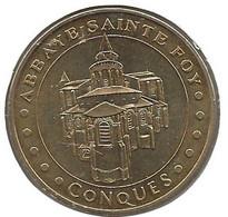 Conques - 12 : Abbaye Ste-Foy (Monnaie De Paris, 2009) - 2009