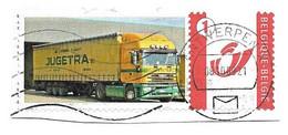 Duostamp Gestempeld  Jugetra Vrachtwagen Truck Op Fragment - Sellos Privados