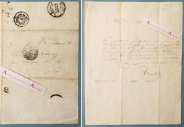 L.A.S 1838 Nicolas-Toussaint CHARLET Peintre Graveur - Réalisation D'un Portrait - Louise Corvey - Lettre Autographe - Handtekening
